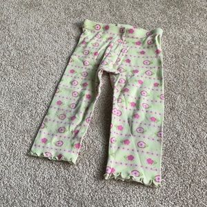 🧩8/$45🧩 Gymboree Pants with Pink Flowers 18-24